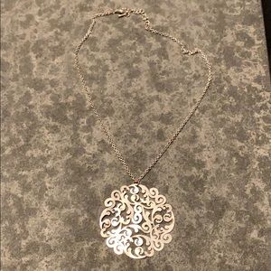 Beautiful silver necklace 💗